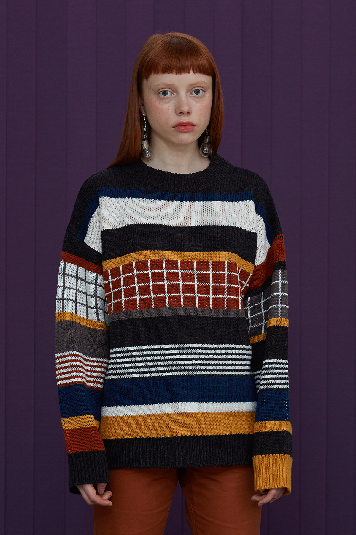 MULTI STRIPE KNIT