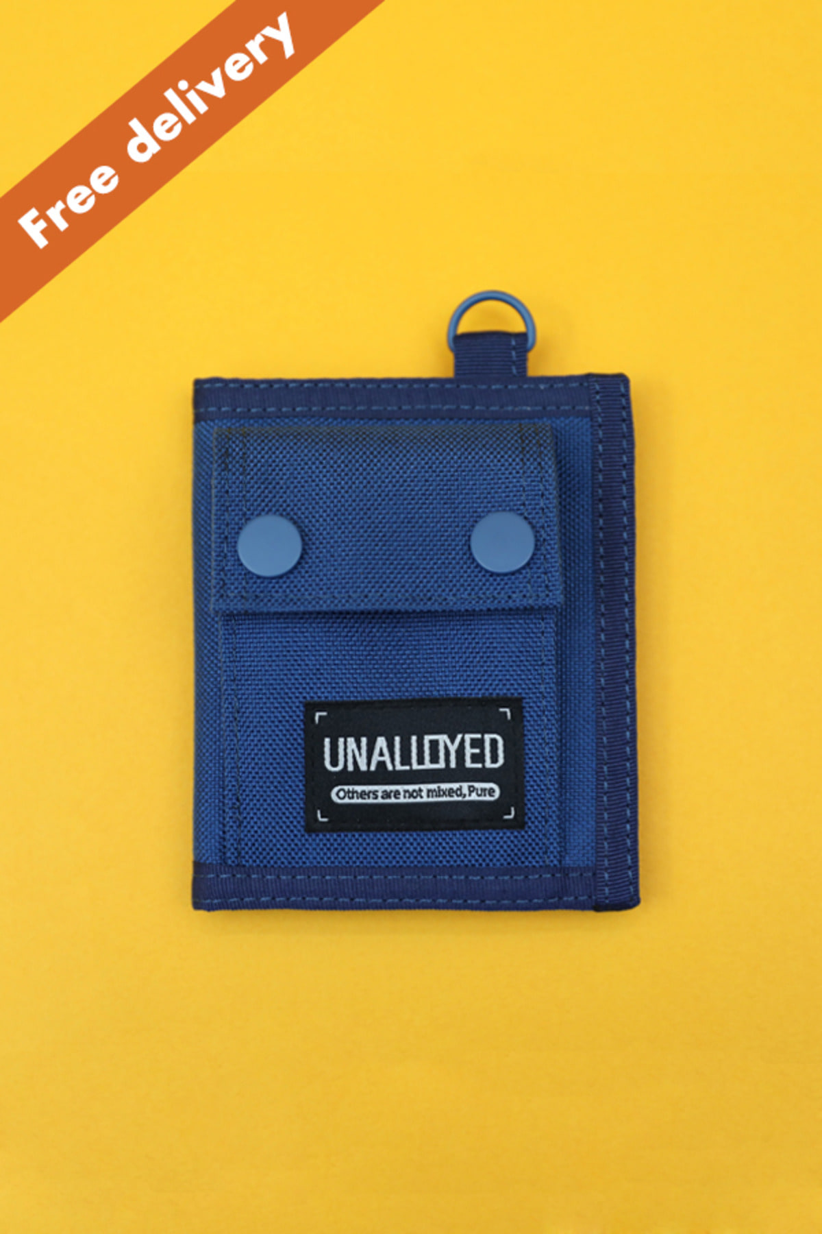 [GOODS] COIN POCKET WALLET / BLUE