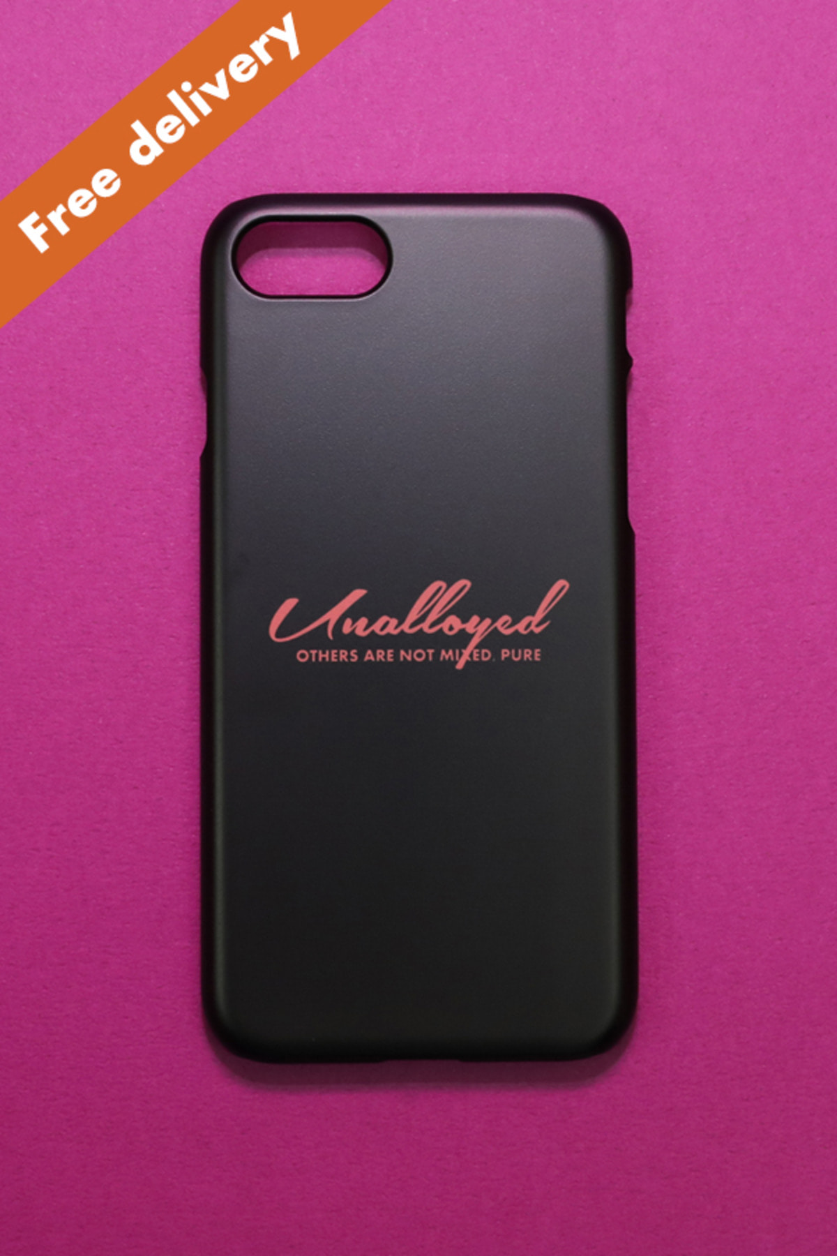 [GOODS] LOGO PHONECASE / BLACK
