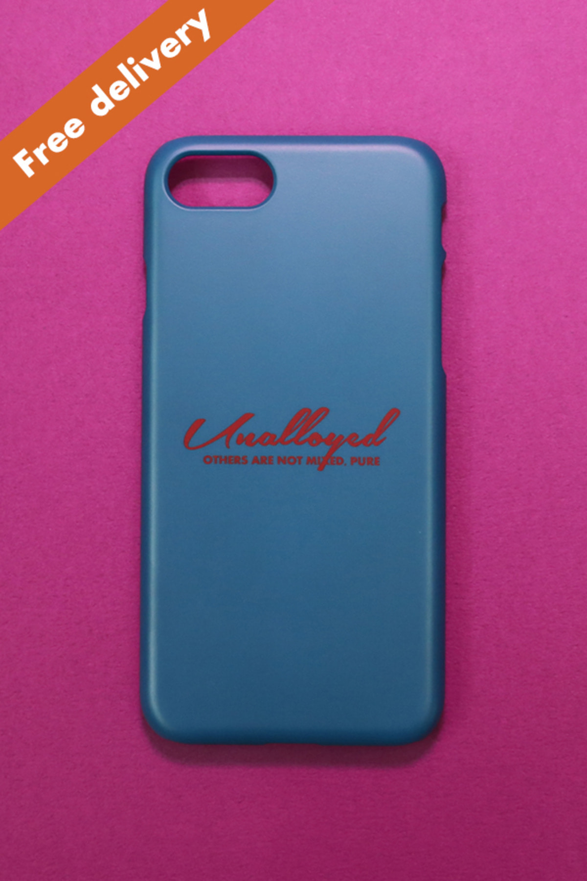 [GOODS] LOGO PHONECASE / BLUE