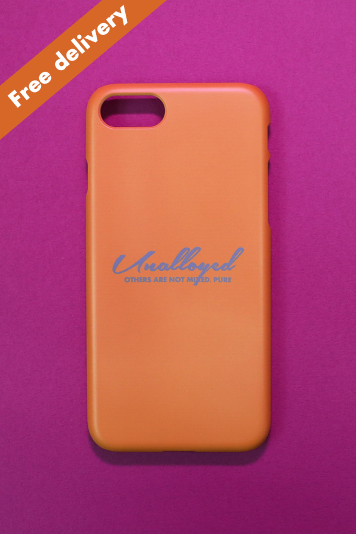 [GOODS] LOGO PHONECASE / YELLOW