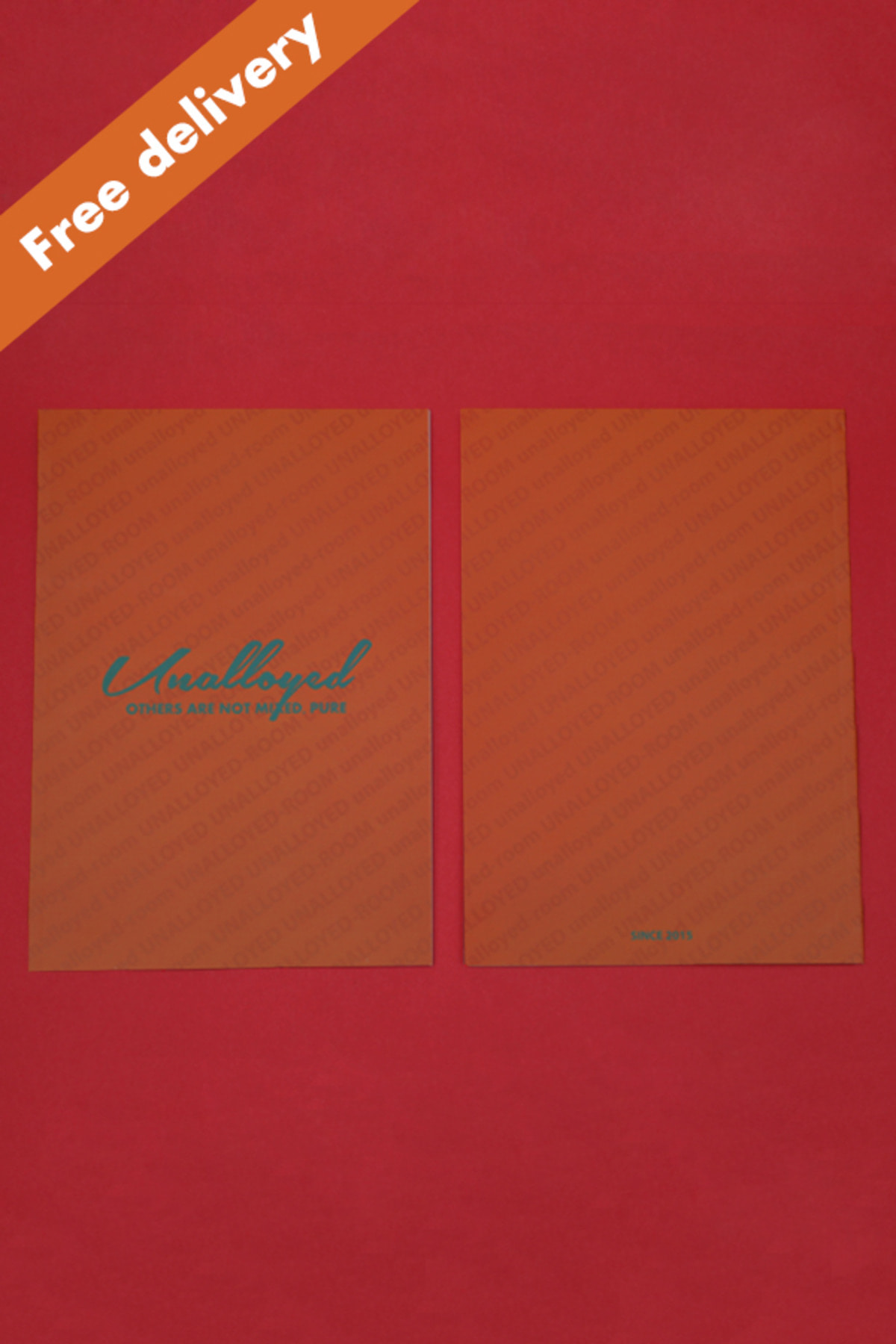 [GOODS] UNALLOYED ROOM NOTE / ORANGE