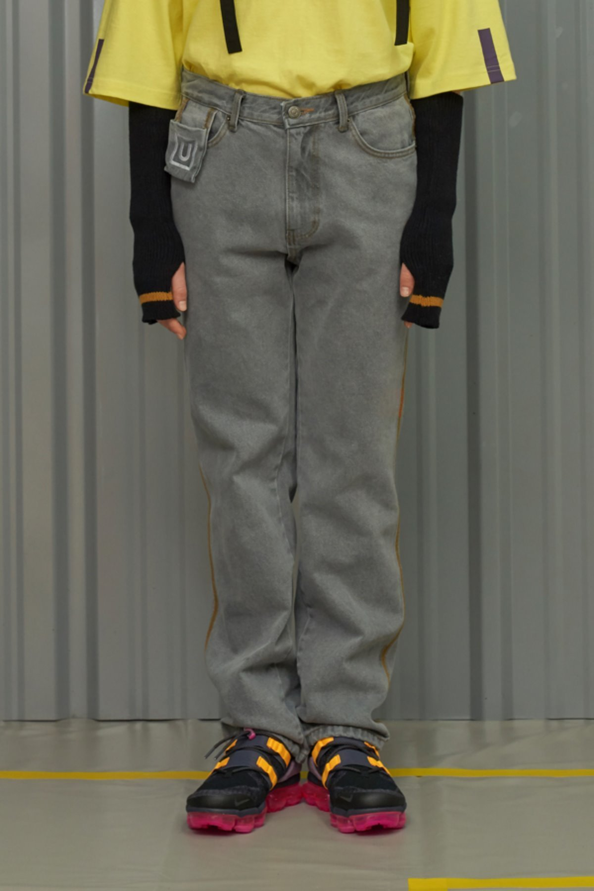 COLOR LINE JEANS / GREY