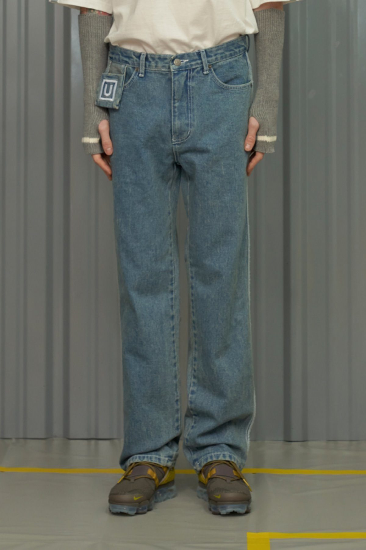 COLOR LINE JEANS / BLUE