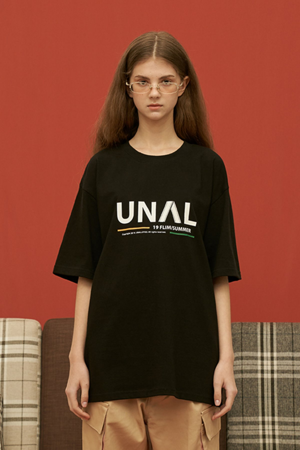 UNAL FILM T SHIRT / BLACK