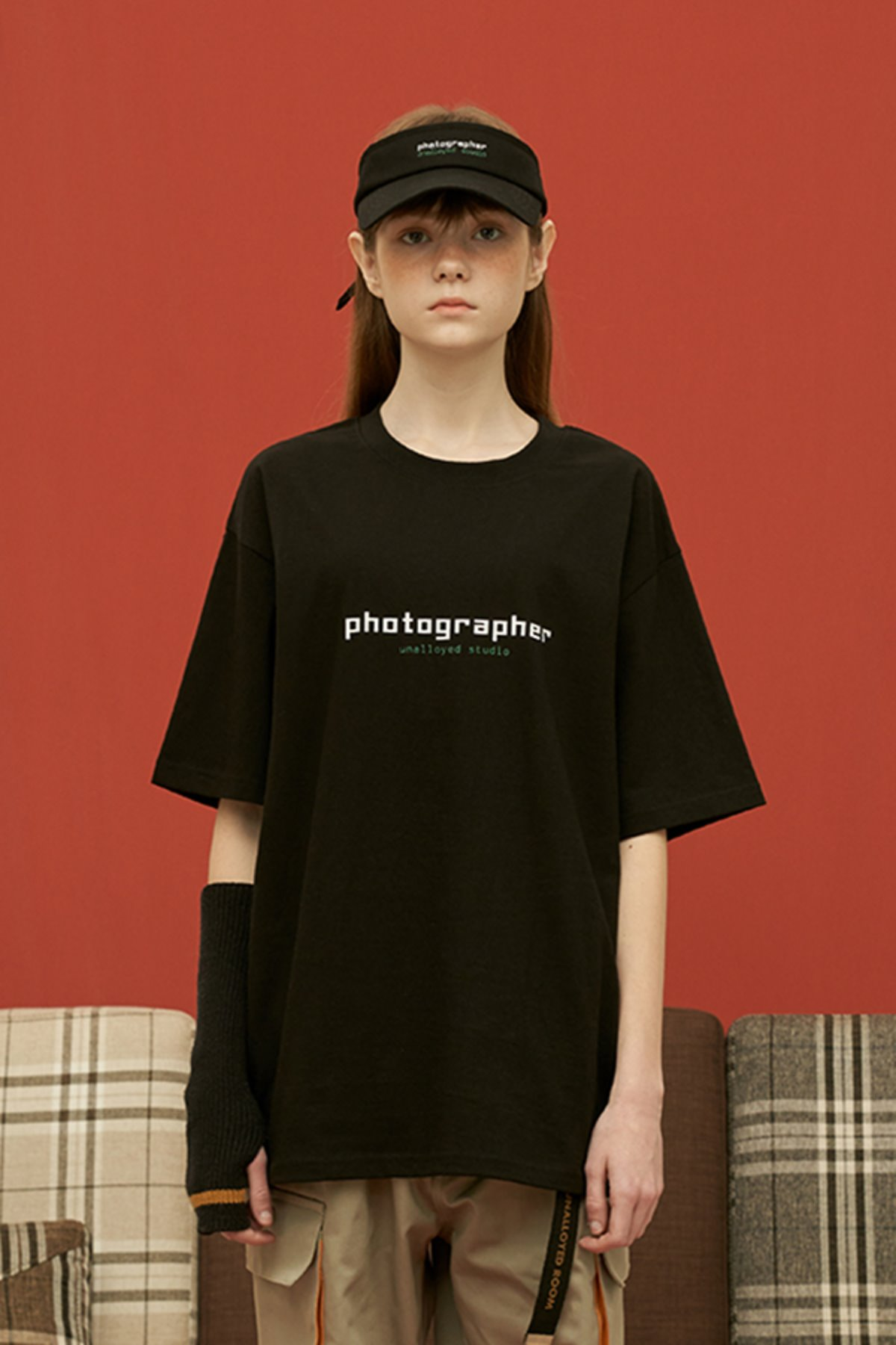 PHOTOGRAPHER T SHIRT / BLACK