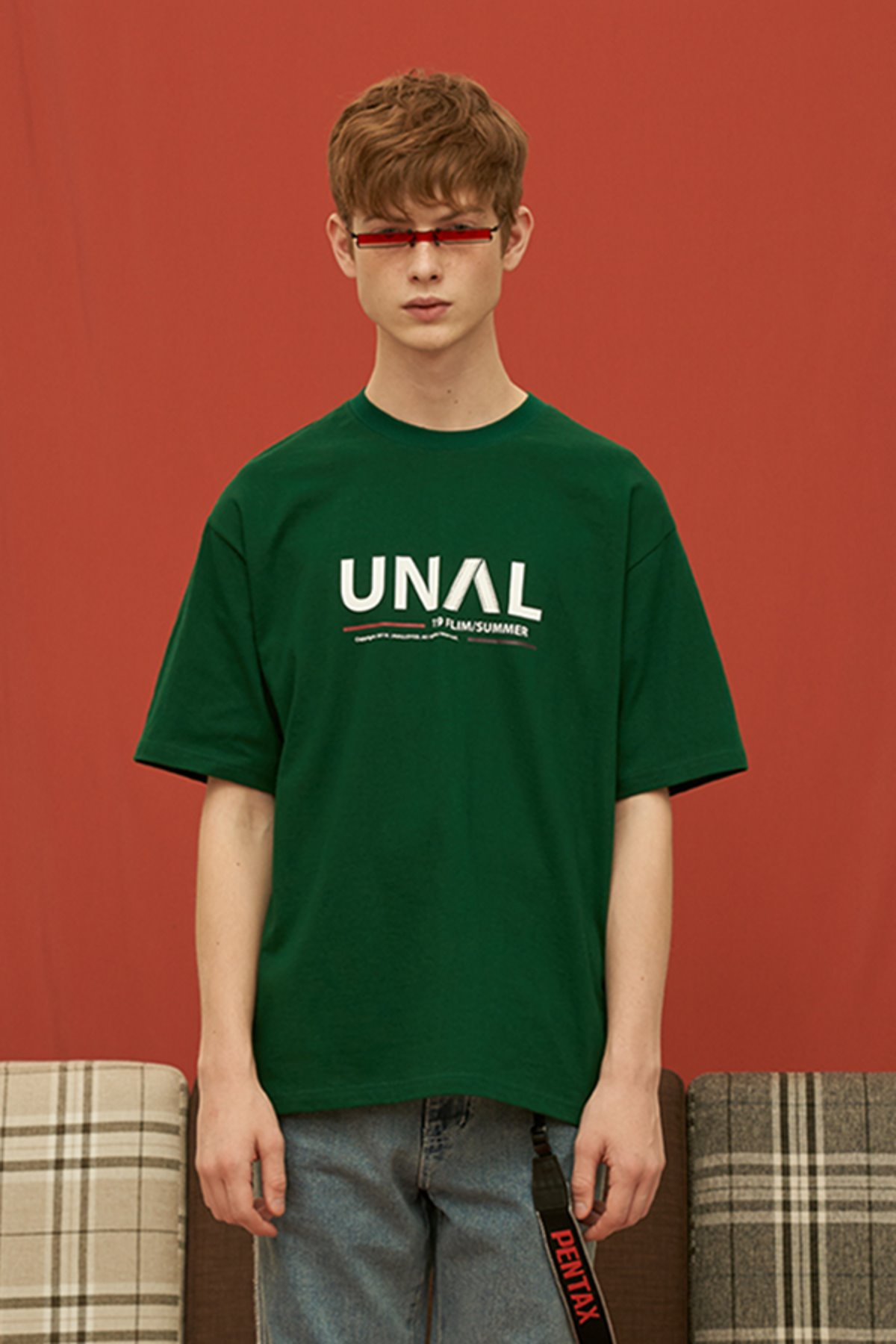 UNAL FILM T SHIRT / GREEN