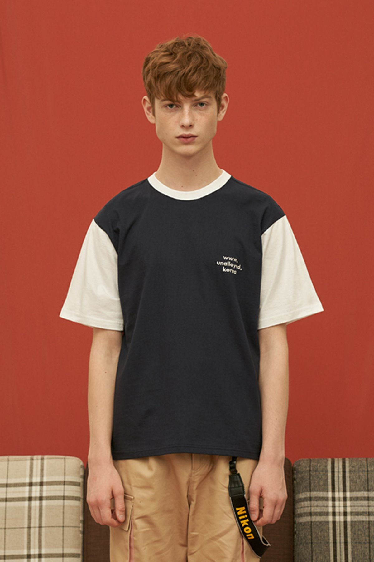 DOMAIN T SHIRT / NAVY