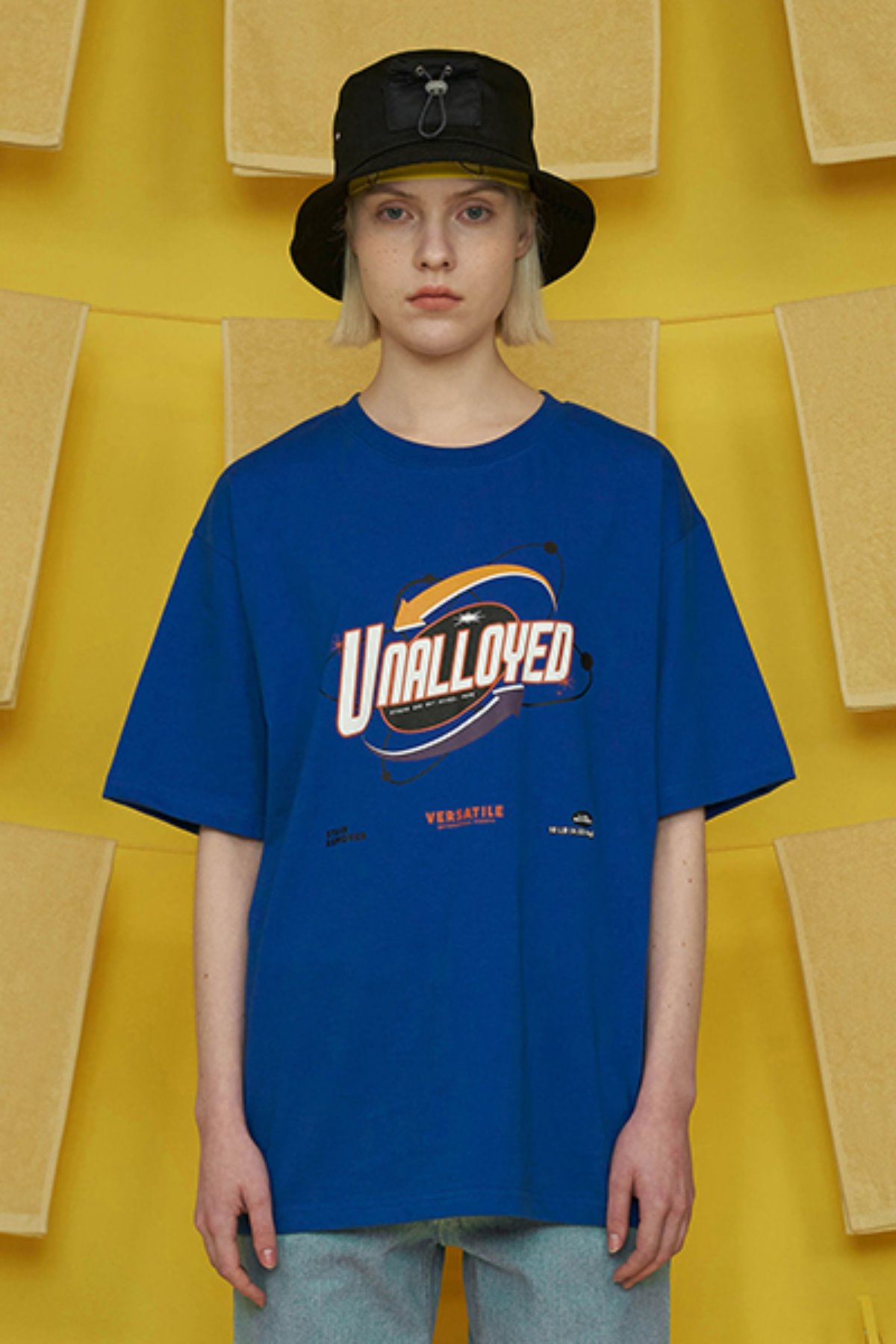 LAUNDRY T SHIRT / BLUE