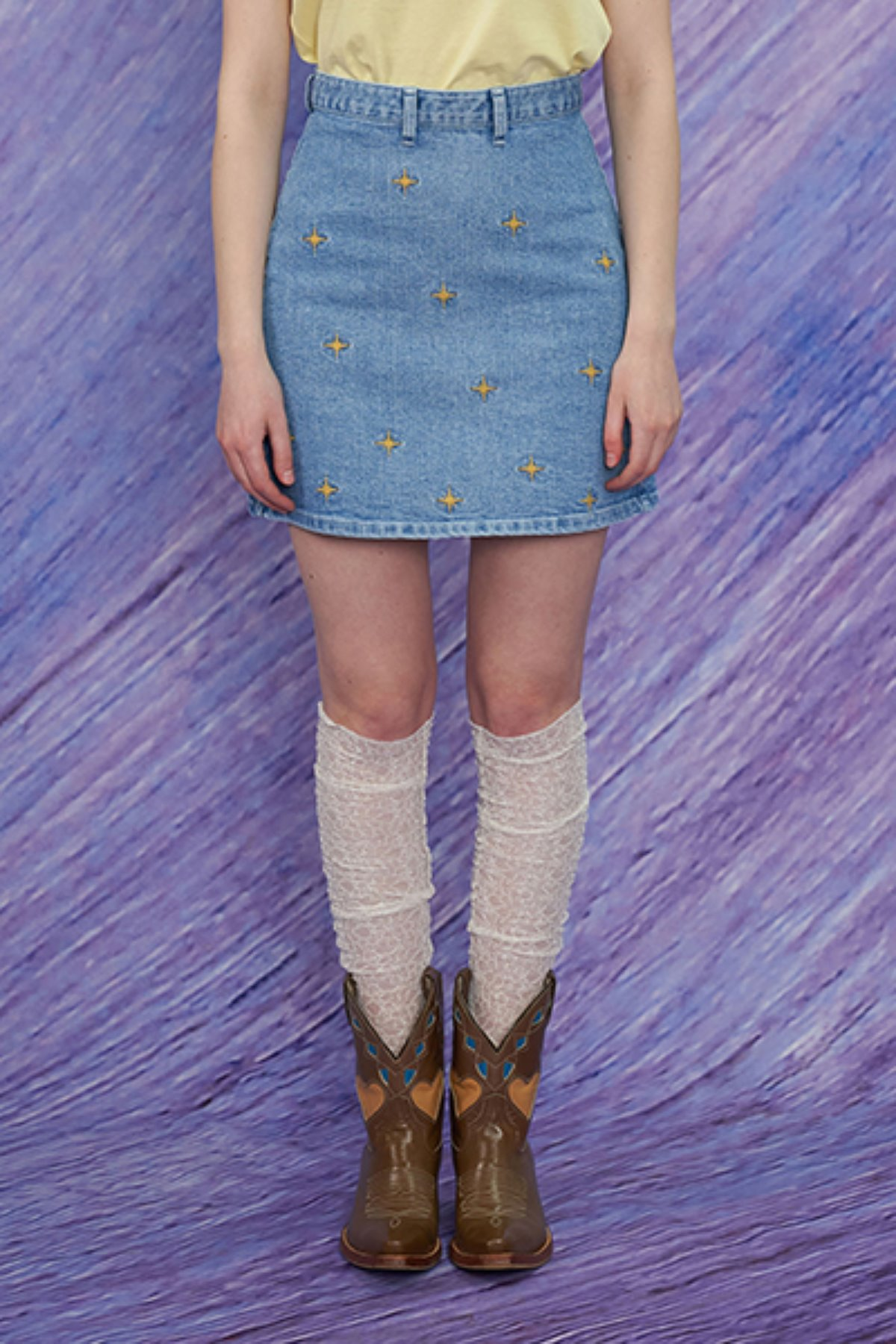 TWINKLE SKIRT / DENIM